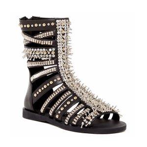 Jeffrey Campbell Darwin studded gladiator sandal